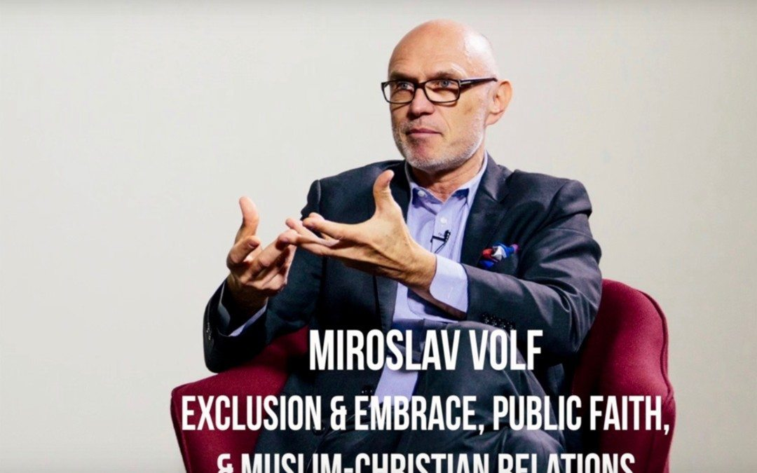 Miroslav Volf | Overcoming Conflict & Hatred & Indifference
