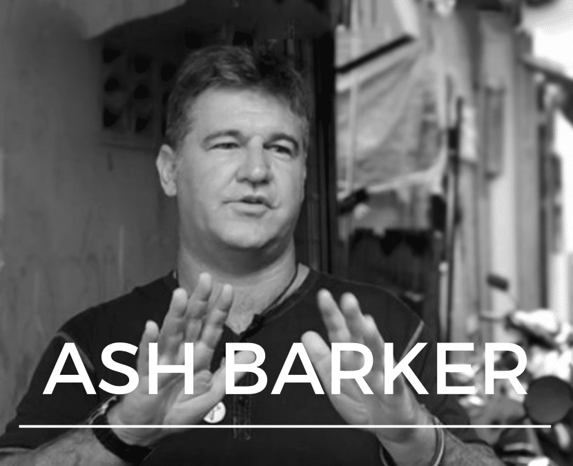 Ash Barker | Serving Jesus Among the Urban Poor