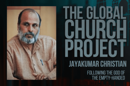 Jayakumar Christian | Following the God of the Empty-Handed
