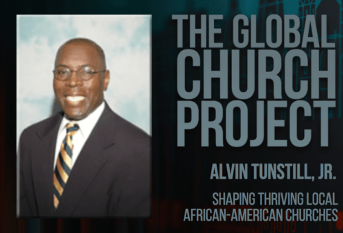 Alvin Tunstill, Jr. | Shaping thriving local African-American churches