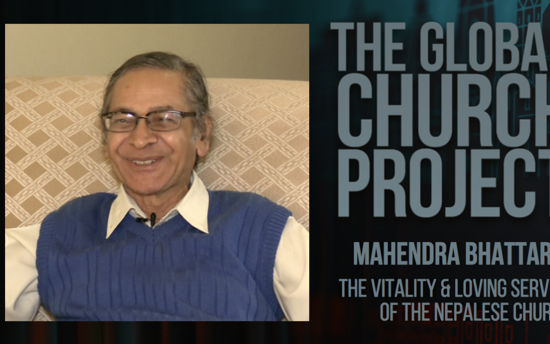 #110: Mahendra Bhattarai – The vitality & loving service of the Nepalese church – Podcast