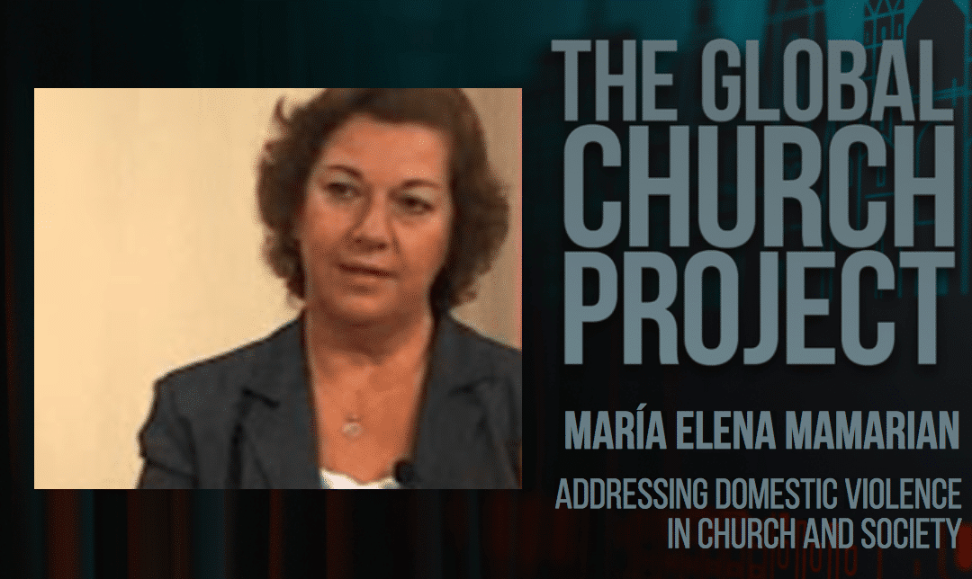 María Elena Mamarian and C. René Padilla | Addressing Domestic Violence in Church and Society