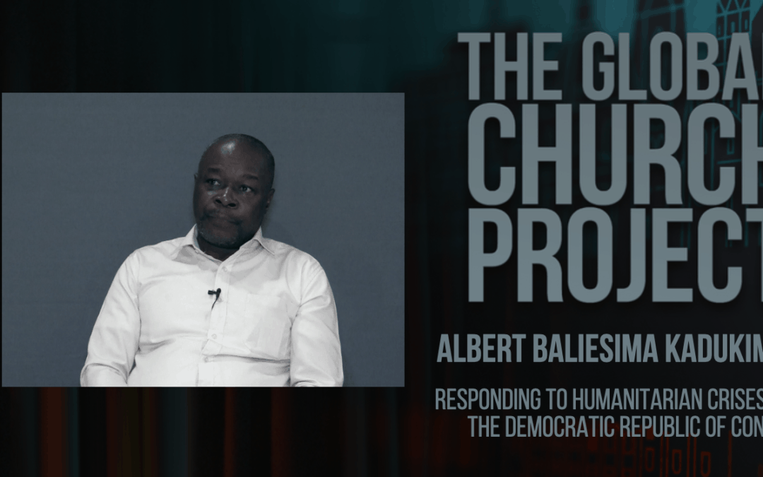 #154: Albert Baliesima Kadukima – Responding to humanitarian crises in the Democratic Republic of Congo – Podcast